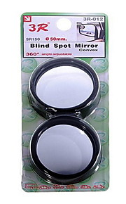 Convex Wide Angle Car Blind Spot Mirror - 50mm (2-Pack)