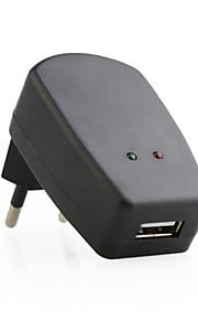 מטען אוניברסלי 100V-240V AC בשימוש בבית (שחור) עבור iPhone 6 בתוספת iphone 6