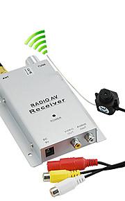 Micro 1.2GHz Wireless Pinhole A/V PAL Camera with Receiver Set