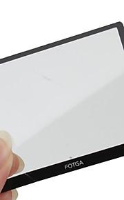 fotga premium lcd-skærm panel protektor glas til Nikon D3100
