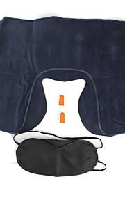 3 em 1 kit de viagem, travesseiro, eyeshade e earplugs