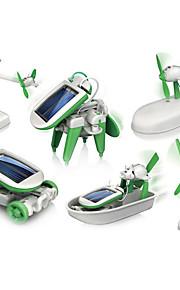 Soldrevet legetøj Grøn Plastik