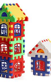 אבני בניין הבית צבעוני (24pcs)
