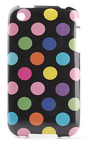 Dots Pattern Soft Case for iPhone 3G and 3GS
