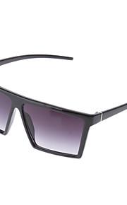 OREKA Fashion grå firkant linse sort ramme solbriller