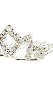 geringe Größe Diamant silberne Krone Haarnadel für Haustiere