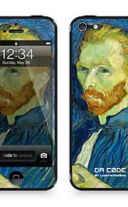 """Da-Code ™ Skin für iPhone 4/4S: """"Self-Portrait"""" von Vincent van Gogh (Masterpieces Series)"""