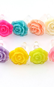 Joyland Pure Color Rose Anti-Dust Earphone Jack (Assorted Color)