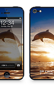 "Da Code ™ Skin for iPhone 4/4S: ""Dolphine"" (Animals Series)"