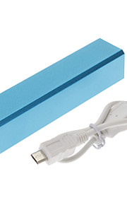 2200mAh mobil kraft bank for iphone4s / 5 / 5s / ipad / samsungs3 / S4 / s5 / mobile enheter
