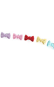 Sweety Bowknot Pattern enchufe del Anti-polvo (colores aleatorios)
