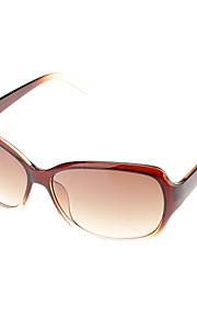 Kvinders Gradient Brown Lens Brown Frame Cat Eye solbriller