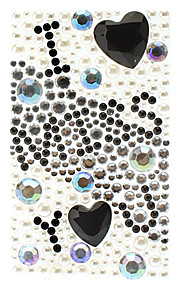 I Miss You Pattern Jewelry Protective Body Sticker for Cellphone