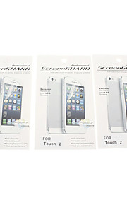 3 Professional Screen Protectors Voor iPod touch 2