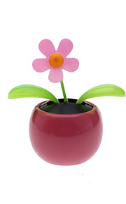 planta solar flor flip flap alimentado