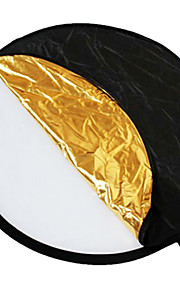 "24 ""5-i-1 Light mulit Sammenklappelig disk Reflector 60cm"