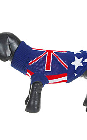 British Flag Style Pattern Sweater for Pets Dogs (Assorted Sizes)