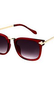 Kvinders Coffee & Purple Lens Black & Blue & Brown & lilla & rød Frame Cat Eye & Square Solbriller