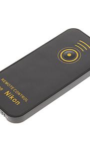 remoto por infravermelhos ir obturador para Nikon D5100 D5200 D3200 d3300 (1 * CR2025)