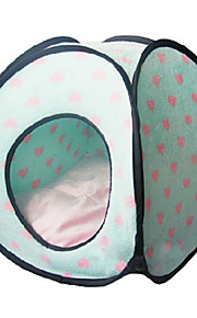 Loving Heart Print Tent Style Bed for Pets Dogs