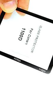 Fotga Premium LCD-skærm panel protektor Glas til Canon EOS 1000D