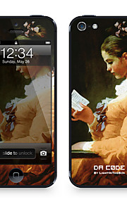 """Da Code ™ Skin for iPhone 5/5S: """"A Young Girl Reading"""" by Jean-Honoré Fragonard (Masterpieces Series)"""