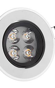 4 Taklamper (Warm White AC 85-265