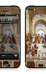 "Da Code ™ Skin voor iPhone 5/5S: ""De School van Athene"" door Rafael Rooms (Masterpieces Series)"