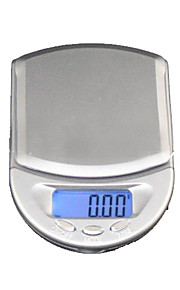 500g x 0.1g LCD Digital Jewelry Pocket Scale