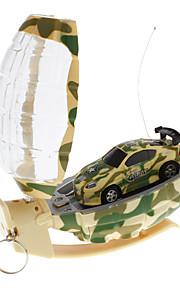 Mini RC Racing Car med Grenade formet controller (tilfældig farve)