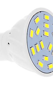 7W GU10 LED-spotpærer 18 SMD 5630 570 lm Kjølig hvit AC 220-240 V