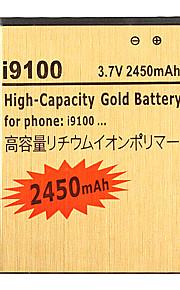 2450mAh mobiele telefoon batterij voor Samsung Galaxy S2 GT-i9100 GT-I9003 SII