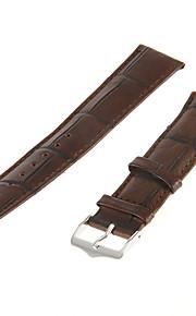 Masculino Feminino Pulseiras de Relógio Couro #(0.007) Acessórios de Relógios