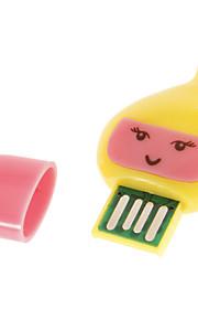 Mini USB Memory Card Reader (Geel / Paars)