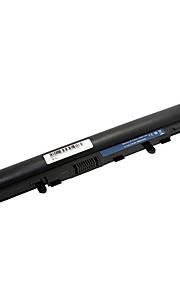 Аккумуляторы для портативных компьютеров для ноутбука Acer Aspire V5-431 V5-471 V5-531 V5-551 V5-571 4ICR17/65 AL12A32 4cell - черный