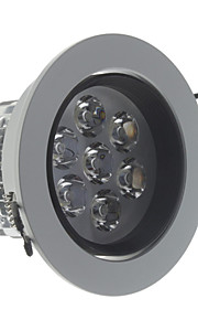 7 Taklamper (Kald Hvit , Mulighet for demping) 560 lm- AC 220-240