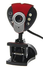 Triangle Shaped Desktop 8 Megapixel Webcam with Mic Night Vision LED