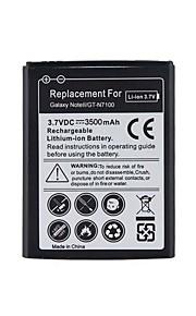 Vervanging van 3.7V 3500mAh li-ion batterij voor Samsung Galaxy Note II / N7100.