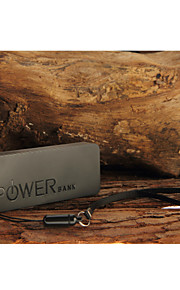mini ultratunna 6500mah bärbar polymeride strömbank för iphone 6/6 plus / 5 / 5s / samsung S4 / S5 / note2
