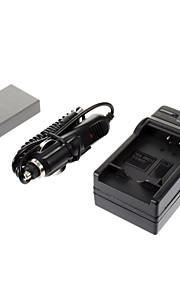 ismartdigi-Oly BLS-5 1150mAh, 7,4 V camera batterij + auto-oplader voor OLYPUSE-PL2 E-PL3 E-P3 EPL5 E-PM1 PM2 PM3