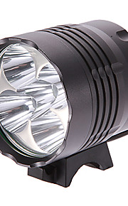 Belysning LED Lommelygter / Lommelygter LED 4000 Lumens 3 Tilstand Cree XM-L2 T6 18650 Multifunktion Aluminiums Legering