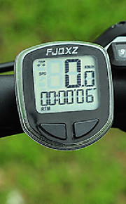 FJQXZ High Quality Waterproof Wired Black Bicycle Speedometer/Stopwatch