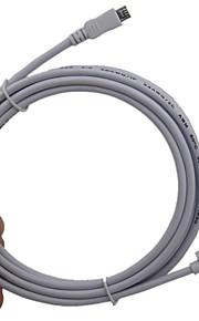 Los 5M 5 Pin Micro USB Negrita Edición Sync cable cargador adaptador para Samsung Galaxy S3 S4 HTC