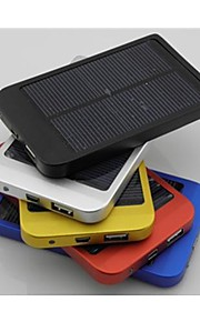 2600mAh Polysilicon Solar Charger External Battery for iPhones/ Samsung/ Cellphones/mobile Devices
