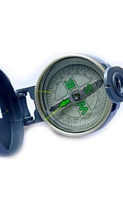 Outdoor Camping Metal Compass-Gray