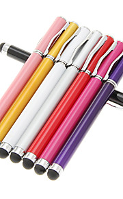 Tablet Stylus Touch Pen med kuglepen til Samsung Galaxy Tab / Kindle Fire / Google Nexus7/Xoom (assorteret farve)