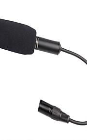 DEBO VV532B profissional Entrevista Camera Aleatório microfone direcional forte gravação do microfone