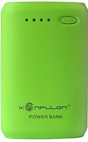 Konfulon® 7800mAh Dual USB Power Bank for iPhone and Others