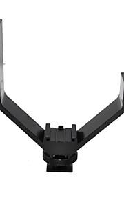 Triple Sko V-beslag 10,5 cm bred, Stik til trefod