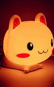 Rabbit Shape ABS LED Night Light (assortert farge)